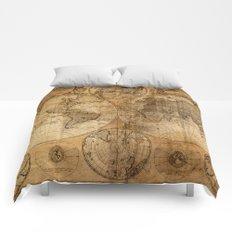 World Map 1746 Comforters