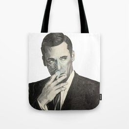 Don Draper's Blue Smoke Tote Bag