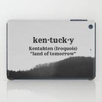 kentucky iPad Cases featuring Kentucky by KimberosePhotography