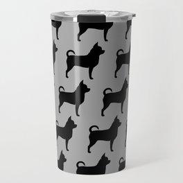 Chihuahua Silhouette Travel Mug
