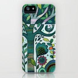 Leafy Garden iPhone Case