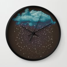 Let It Fall Wall Clock