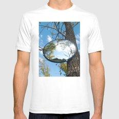 Surveillance Tree #1 Mens Fitted Tee White MEDIUM