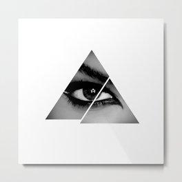 Osiris Triangle Metal Print