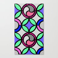 mosaic Canvas Prints featuring Mosaic by Elena Indolfi