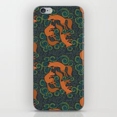 Foxy Pattern iPhone & iPod Skin