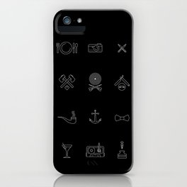 Hipster's Day iPhone Case