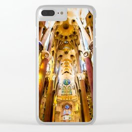 Sagrada Familia Art Work Clear iPhone Case