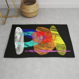 Pastel Pieces - Abstract, pastel artwork Rug