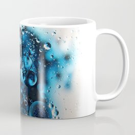 Blue Oil and Water Photography Coffee Mug