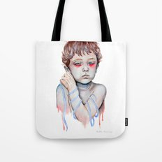 Shoelace Tote Bag