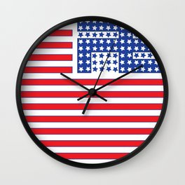 Peace, Joy and harmony in a troubled world. Wall Clock