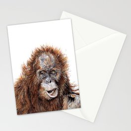 Sumatran Orangutan Stationery Cards