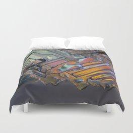 Colorful Geometric Shapes Duvet Cover