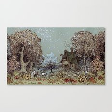 The Gardens of Astronomer Canvas Print