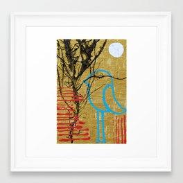 Alone at Last Framed Art Print