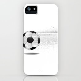 Moving Football iPhone Case