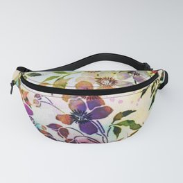 garland of flowers Fanny Pack