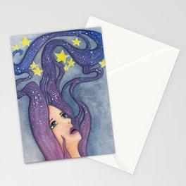 Galaxy Dreamer Stationery Cards