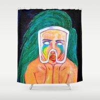 artpop Shower Curtains featuring ARTPOP by KALEEMXWILL ART