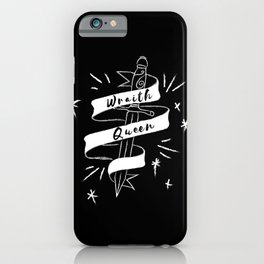 Wraith Queen iPhone Case