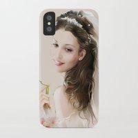 bride iPhone & iPod Cases featuring bride by tatiana-teni