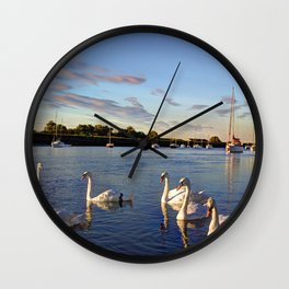The River Crouch Essex Wall Clock