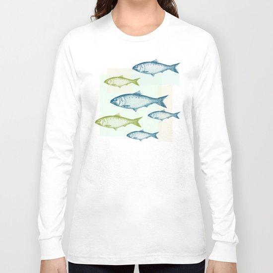 Vintage Fish Long Sleeve T-shirt