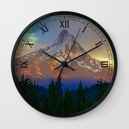 When Adventure Begins Wall Clock