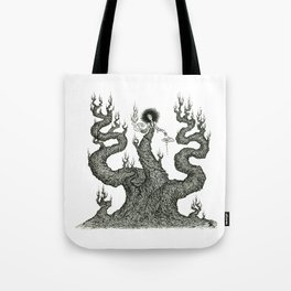 Dryad - Bark Weaver Tote Bag