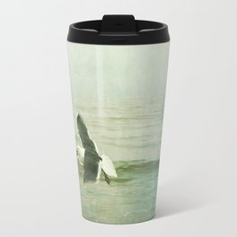 Seagull and Crab Travel Mug