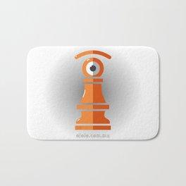 pawn's eye Bath Mat
