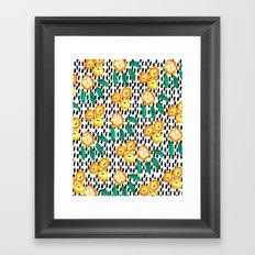 Citrus and Leaves II Framed Art Print