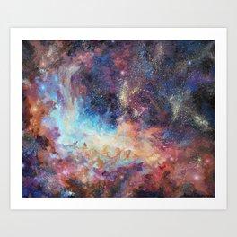 """""""Birth of stars"""" Art Print"""
