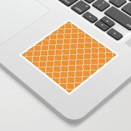 Quatrefoil - Apricot Sticker