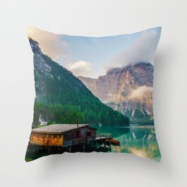 The Place To Be III Throw Pillow