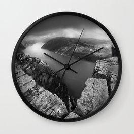 PREIKESTOLEN I Wall Clock