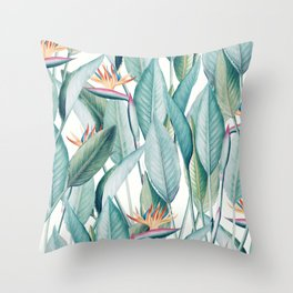 Back to Paradise Island #society6 #decor #buyart Throw Pillow