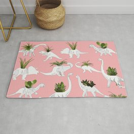 Dinosaurs & Succulents Rug