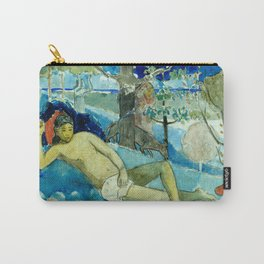 """Paul Gauguin """"Te arii vahine (The Queen of Beauty or The Noble Queen)"""" Carry-All Pouch"""