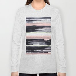Black stripe Long Sleeve T-shirt