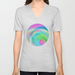 Color Spheres Unisex V-Neck