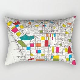 Los Angeles Streets Rectangular Pillow