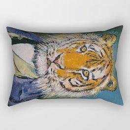 Gentleman Tiger Rectangular Pillow