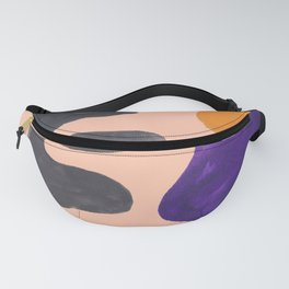 33| 190330 Abstract Shapes Painting Fanny Pack