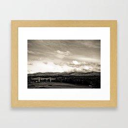 Bala,Wales 2009 Framed Art Print