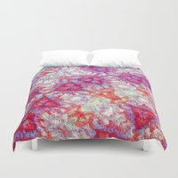dna Duvet Covers featuring DNA by MonsterBrown