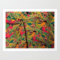 Color Tent Art Print