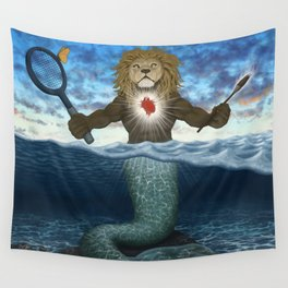 Lion Heart Wall Tapestry