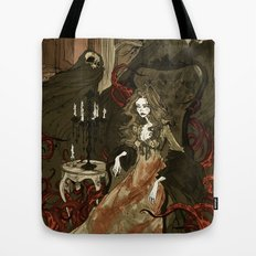 Nightmares of the Alchemist's Wife Tote Bag